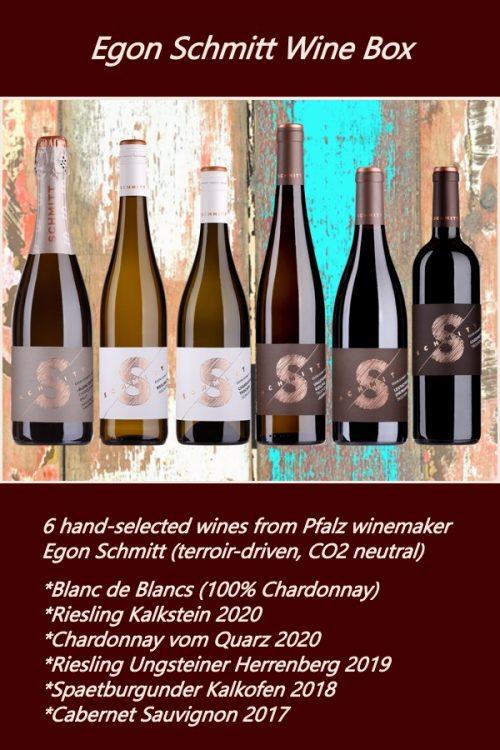 Egon Schmitt Pfalz wine box