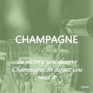 Champagne er en eksklusiv mousserende vin