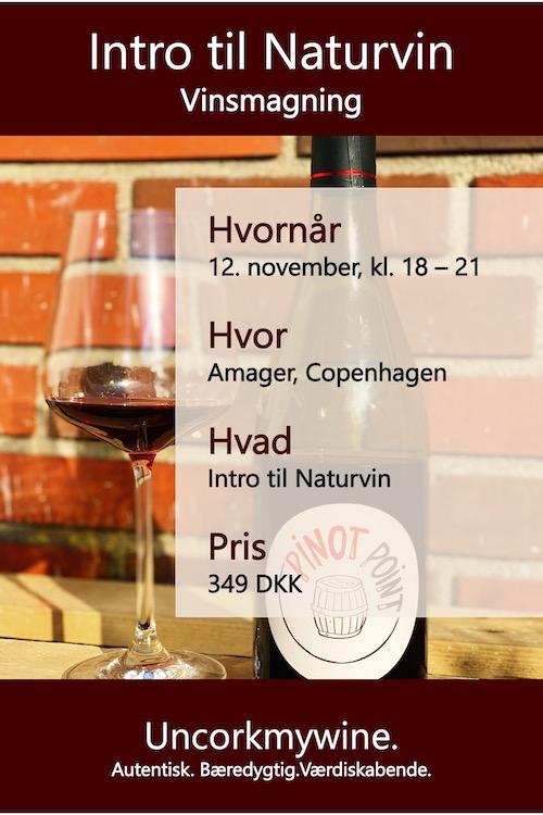 Naturvine vinsmagning København Uncorkmywine