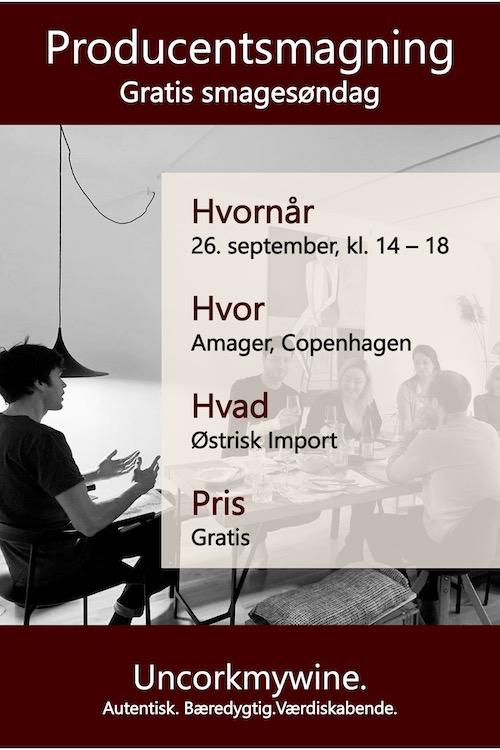 Producent Vinsmagning København Uncorkmywine